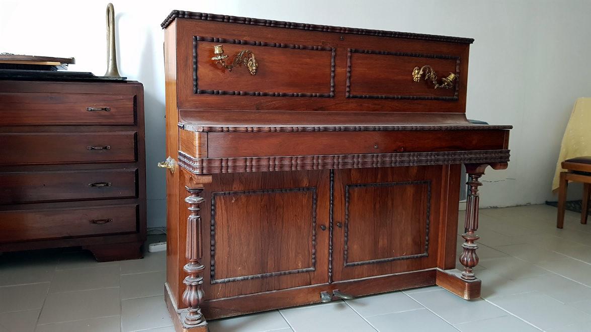 PIANO DROIT AUCHER FRÈRES 1856