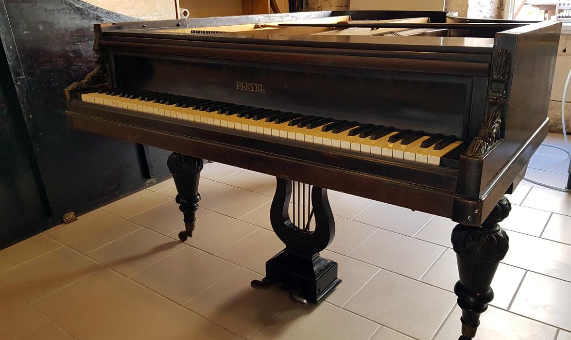 PIANO À QUEUE PLEYEL 1887