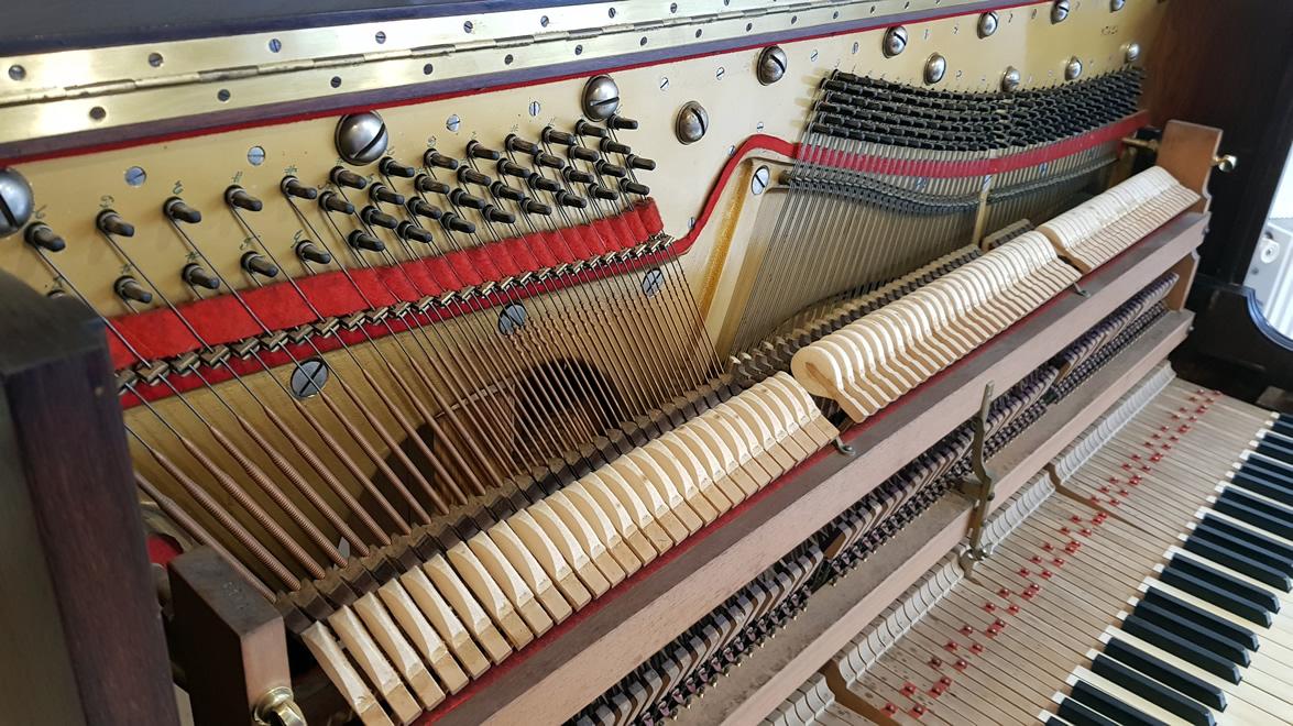 Les Réglages de la Mécanique du Piano