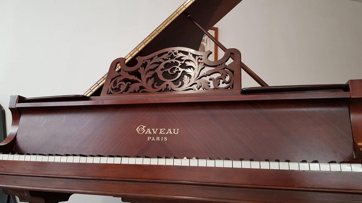 PIANO À QUEUE CRAPAUD GAVEAU 1912