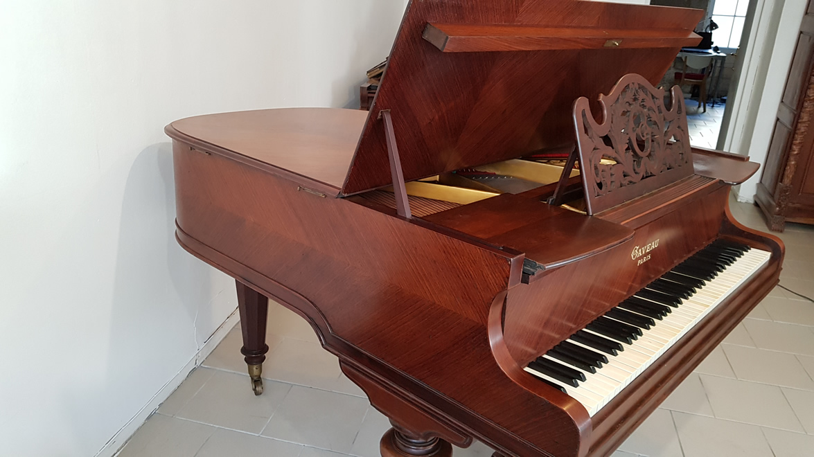 PIANO À QUEUE CRAPAUD GAVEAU 1912
