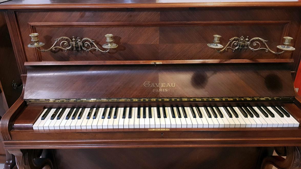 PIANO DROIT GAVEAU 1912