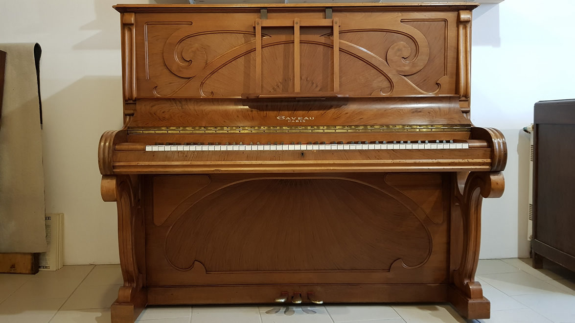 PIANO DROIT GAVEAU BELEVILLE 1913