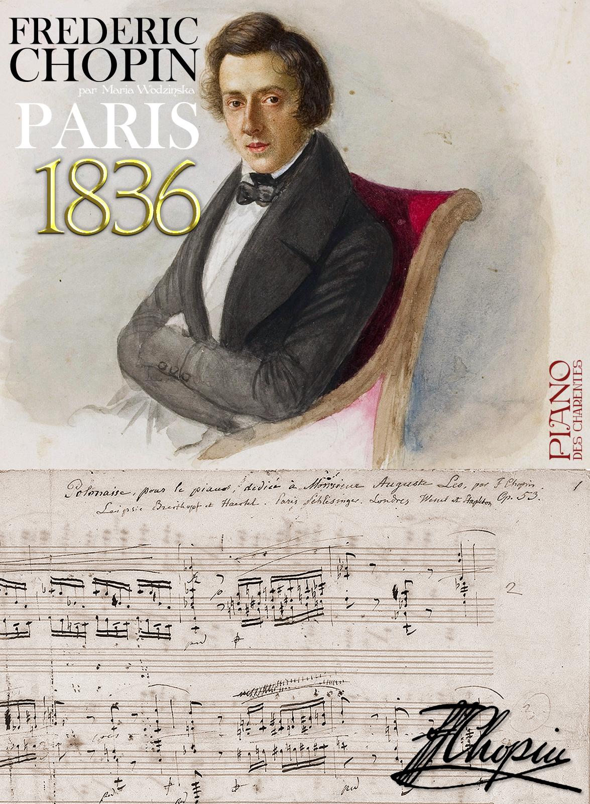 Frédéric Chopin 1836 - Piano des Charentes