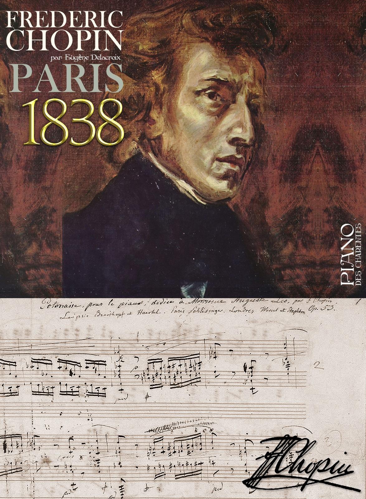 Frédéric Chopin 1838