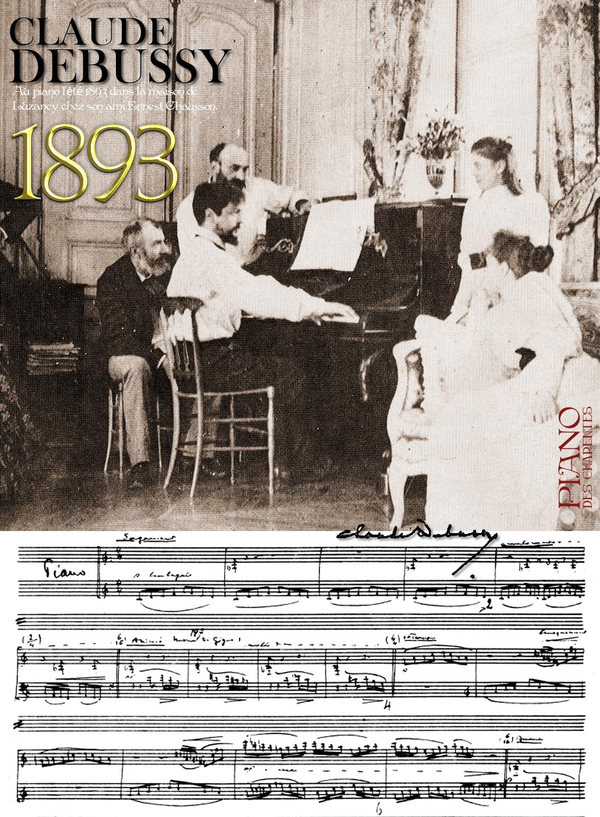 Claude DEBUSSY 1893