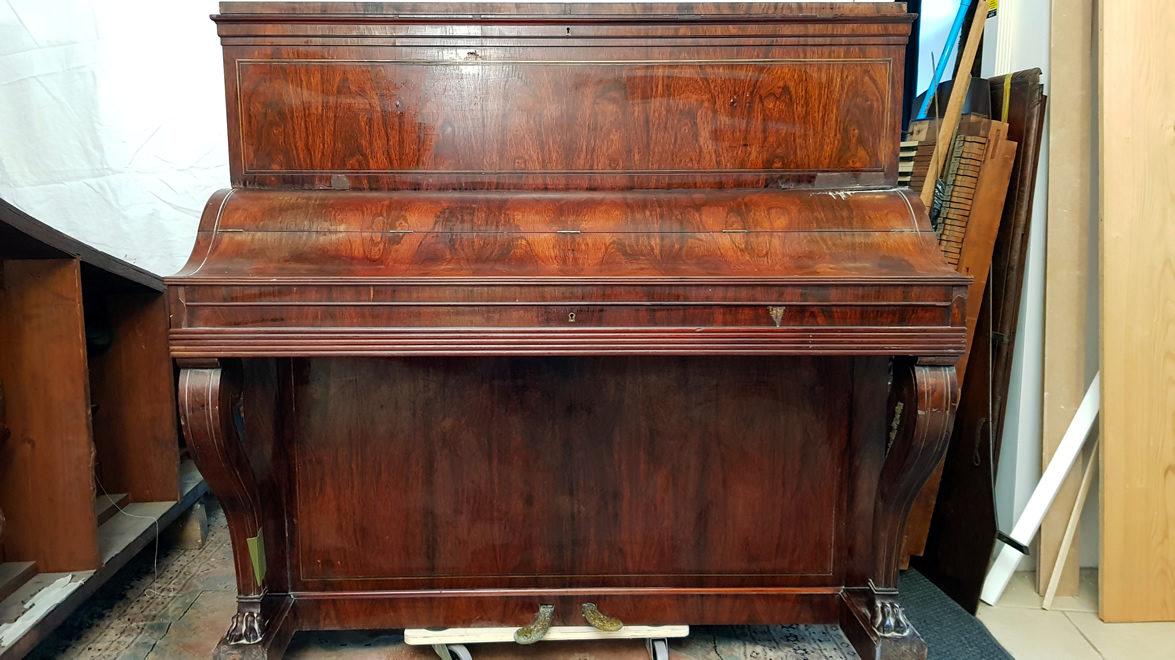 PLEYEL Pianino Palissandre 1838