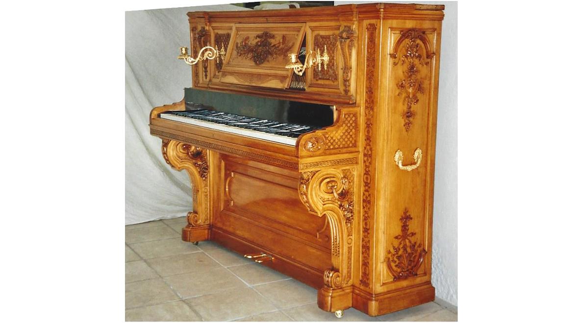 Boisselot & Fils piano droit 1860