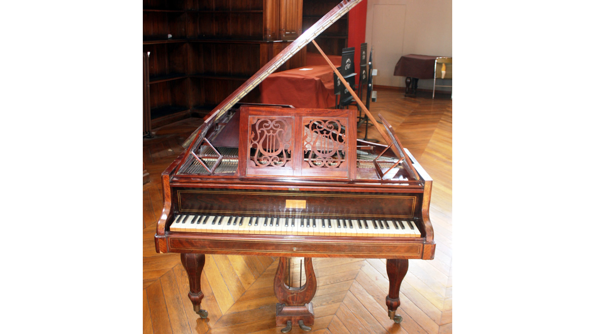 Piano à queue BOISSELOT & FILS 1844