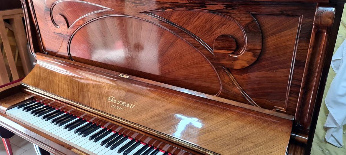 GAVEAU piano droit modèle B 1908