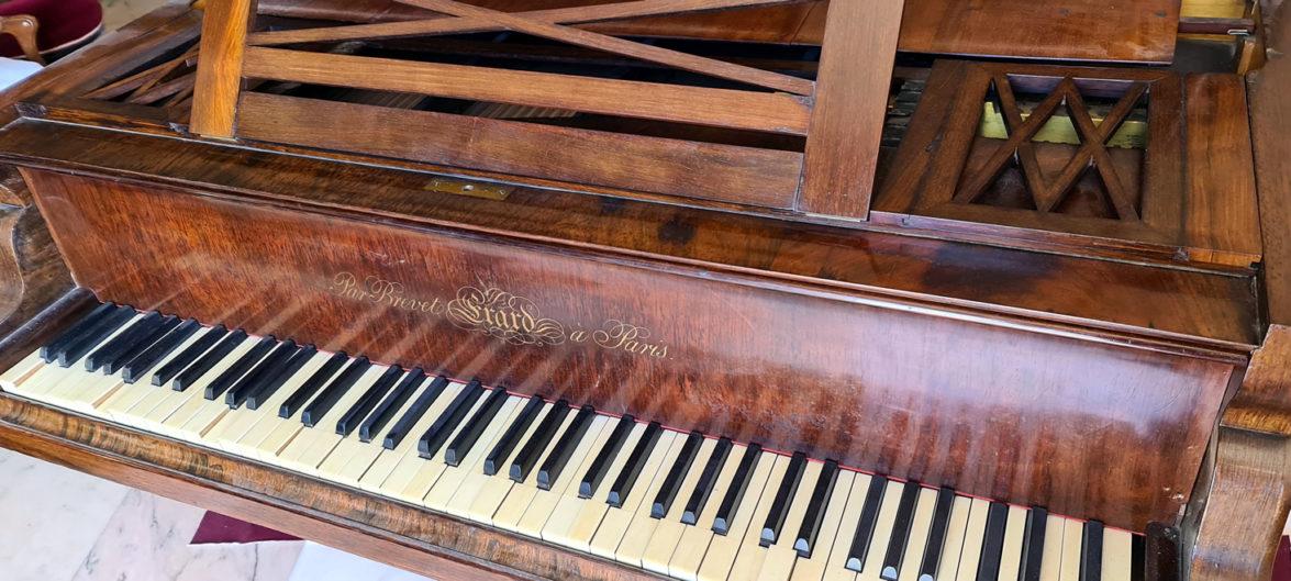 ERARD 1844 piano queue palissandre de rio